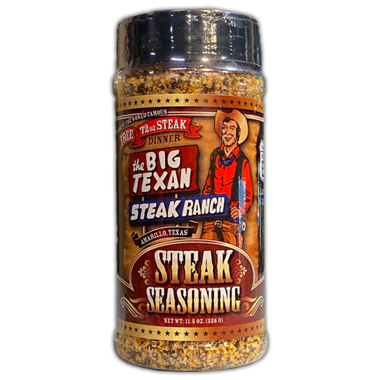 Big Texan steak seasoning